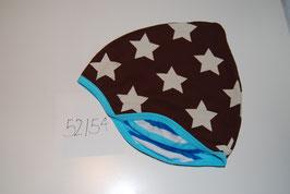 37 Helmmütze Stars auf Braun