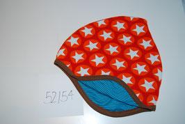 36 Helmmütze, Stars auf Orange
