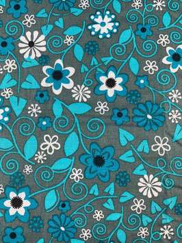 Textilmaske aus 100% Baumwolle *Blumenmeer*