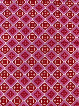 Textilmaske aus 100% Baumwolle *Pink Passion*