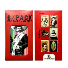 Postkarten-Set MEXIKO