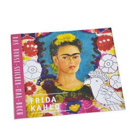 FRIDA KAHLO - Kunst-Sticker-Malbuch