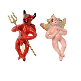 Engelchen & Teufelchen KERAMIK