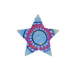 Weihnachts-Stern Blau