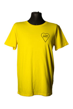 'Comes From The Heart' T-Shirt yellow