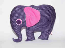 Elefant lila/pink