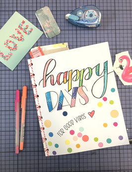 Happy Journal, Upcycling Buch