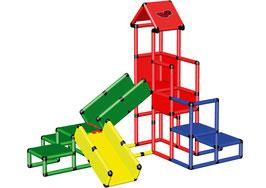 Spielturm mit Krabbelbrücken