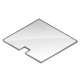 Plexiglasscheibe (Rutsche)