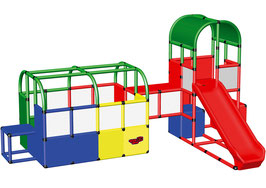 Bällebad mit Tunnel und Spielturm