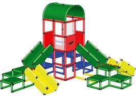 Mega Spielturm mit Krabbelbrücken