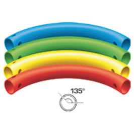 Bogenrohr 135° (3 Löcher)