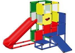 Spielturm mit Integralrutsche und Babyrutsche