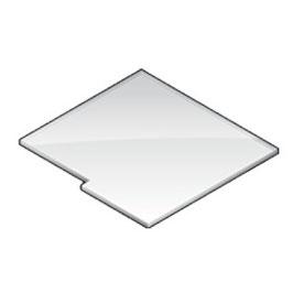 Plexiglasscheibe (Integralrutsche)