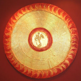 Energie - Schutzkunstbild auf Holz mit 24 Karat Blattgold 60cm, 80cm, 100cm