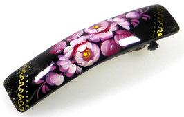 Russische Haarspange, Holz, handgemalt, Artikel HAARSP5