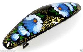 Russische Haarspange, Holz, handgemalt, Artikel HAARSP22