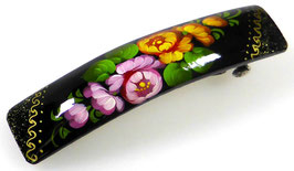 Russische Haarspange, Holz, handgemalt, Artikel HAARSP4