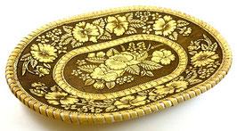 Russische dekorative Mehrzweckschale aus Birkenrinde, Artikel BIR5