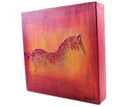 """Acryl Bild """"Pferd"""""""