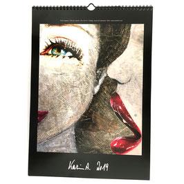 Kunst-Wand-Kalender 2019