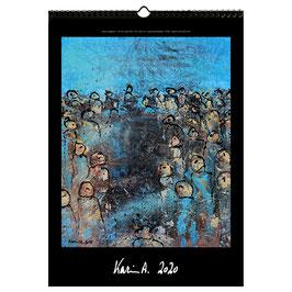 Kunst-Wand-Kalender 2020