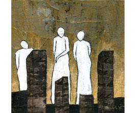 """Acryl Bild """"Wächter der Stadt"""""""