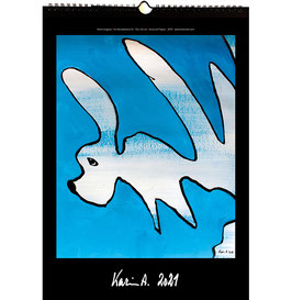 Kunst-Wand-Kalender 2021