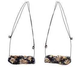 Halskette mit Keramik Anhänger