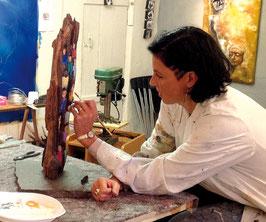 1 Tag Skulpturenbau und 1 Tag Acryl-Malkurs