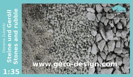 """Gero """"Steine und Geröll / Stones and rubble """" - 0,7kg"""