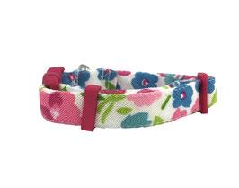 "Collar para Perro ""Rosas Rosas"""