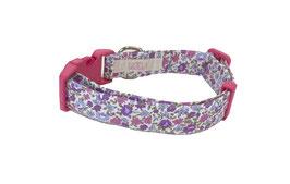 """Collar para Perro """"Flor Lilas"""""""