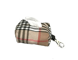 "Porta bolsas perro ""Burberry"""