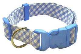 """Collar para Perro """"Cuadrito Azul"""""""