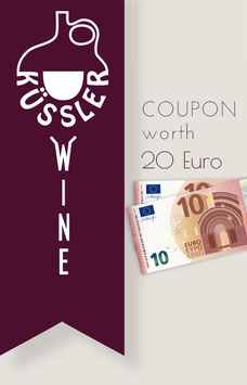 COUPON worth 20 Euro