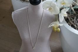 Halskette 90 cm mit Herz Anhänger