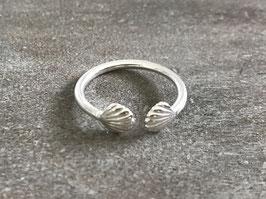 Ring Silber Muschel