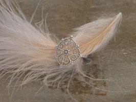 Ring Silber Amulett