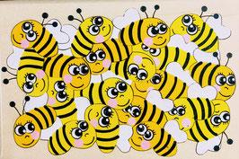 Petit puzzle abeille