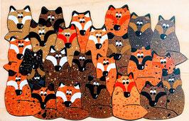 Petit puzzle renards