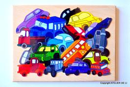 Grand puzzle voitures