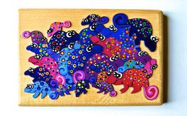 Petit puzzle caméléons