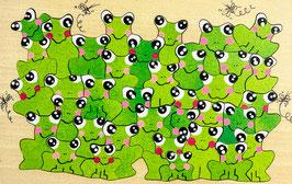 Petit puzzle grenouille
