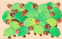 Petit puzzle tortues de terre