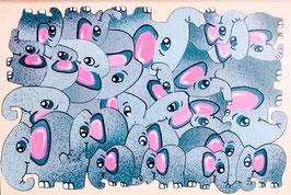 Petit puzzle éléphants