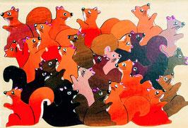 Petit puzzle écureuils