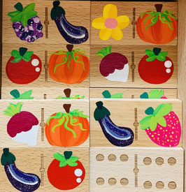 Domino fruits et légumes