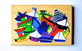 Petit puzzle bateaux