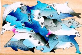 Petit puzzle dauphins